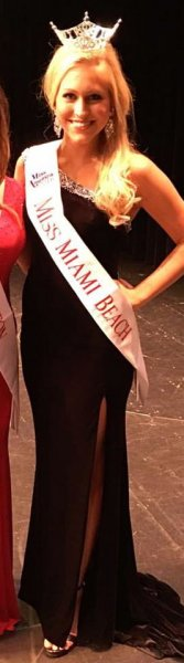 Kayla Foriere, Miss Miami Beach 2016